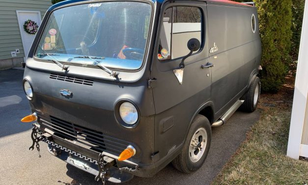 Family Matters: 1965 Chevrolet G10 Shorty Van – SOLD!