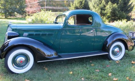 Restored Rumble: 1936 Packard Model 120B – $34,500