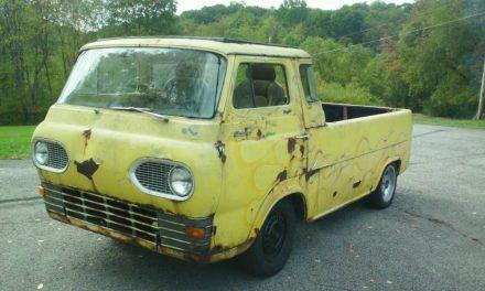 Classifind Cut: 1961 Ford E100 Rat Rod – Sold?