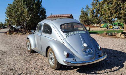 Rare Ragtop: 1959 Volkswagen Beetle Sunroof Sedan
