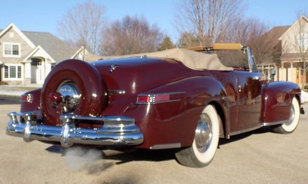 Declining Design: 1946 Lincoln Continental Convertible – Sold?