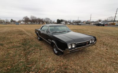 1966 Oldsmobile 442 L69, 4-Speed, and Factory A/C