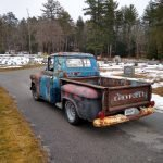 Task Force: 1955 Chevrolet 3100 Three Window Pickup – $9,500