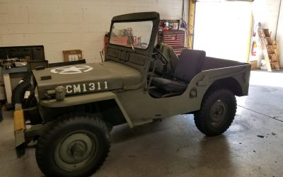 1946 Willys-Jeep CJ-2A – SOLD for $8,000