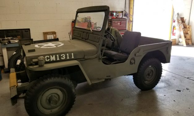 1946 Willys-Jeep CJ-2A – $8,000
