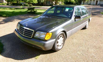 1993 Mercedes-Benz W140 500SEL