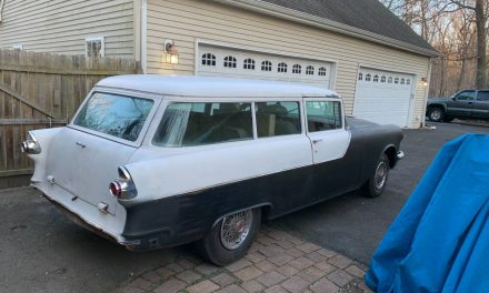 Classifind Cut: 1955 Pontiac Cheiftain Two-Door Wagon Project – $8,000