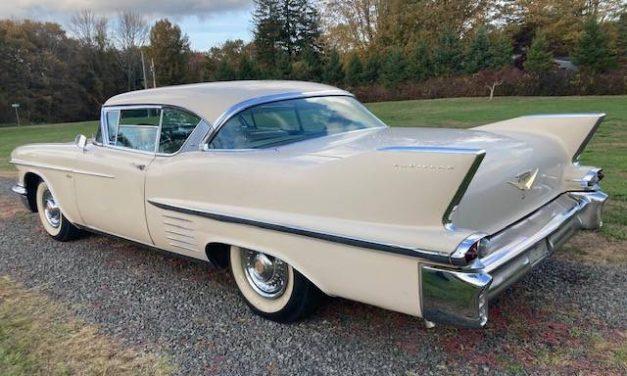 Four Months Gone: 1958 Cadillac Coupe De Ville Series 62 – NOW $35,000