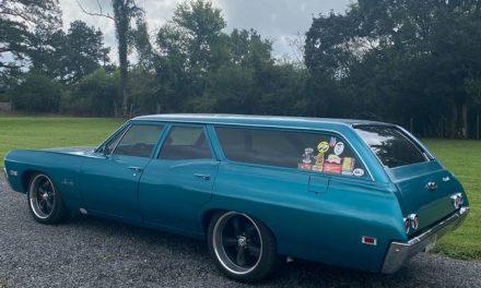 Classifind Cut: 1968 Chevrolet Bel Air Station Wagon LS Swap – $16,500