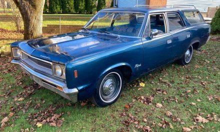 1968 AMC Rebel 550 Cross Country Wagon – SOLD!