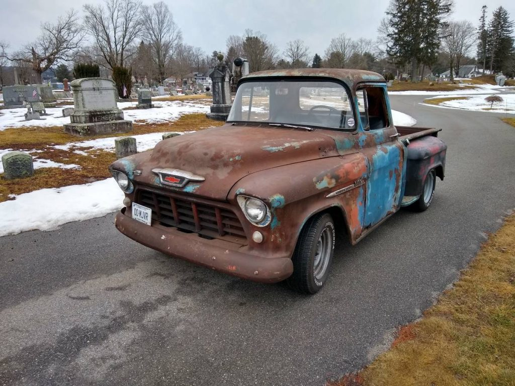 1955 Chevrolet 3100 Pickup For Sale | GuysWithRides.com