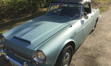 Desirable Driver: 1967 Datsun 1600 Roadster – STILL $15,500