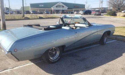 Blue Beauty: 1968 Buick Skylark Custom Convertible – SOLD!