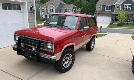 Rad Ranger: 1988 Ford Bronco II Eddie Bauer- SOLD!
