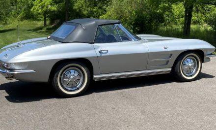 Satin Silver: 1964 Chevrolet Corvette Convertible L75 4-Speed – Sold?