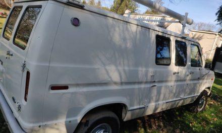 Sneaky Suspicion: 1991 Ford E350 Surveillance Van – Sold?