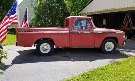 Classifind Cut: 1966 Dodge D100 Sweptline Pickup – Sold?