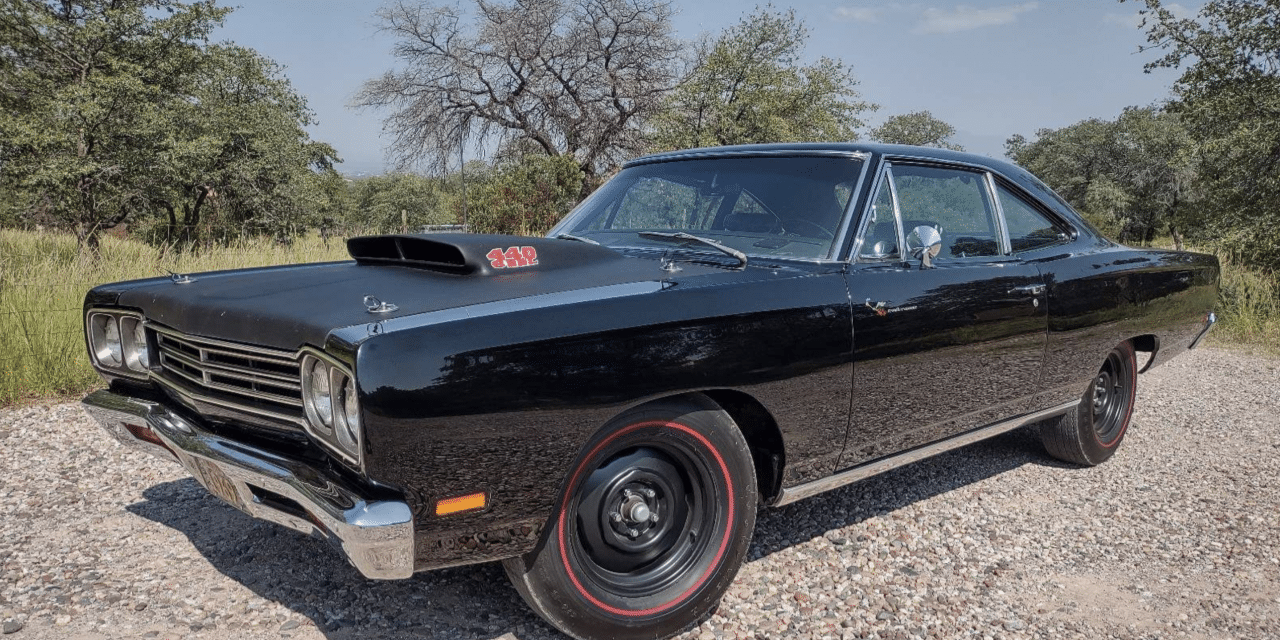 One of Six: 1969 1/2 A12 Plymouth Roadrunner