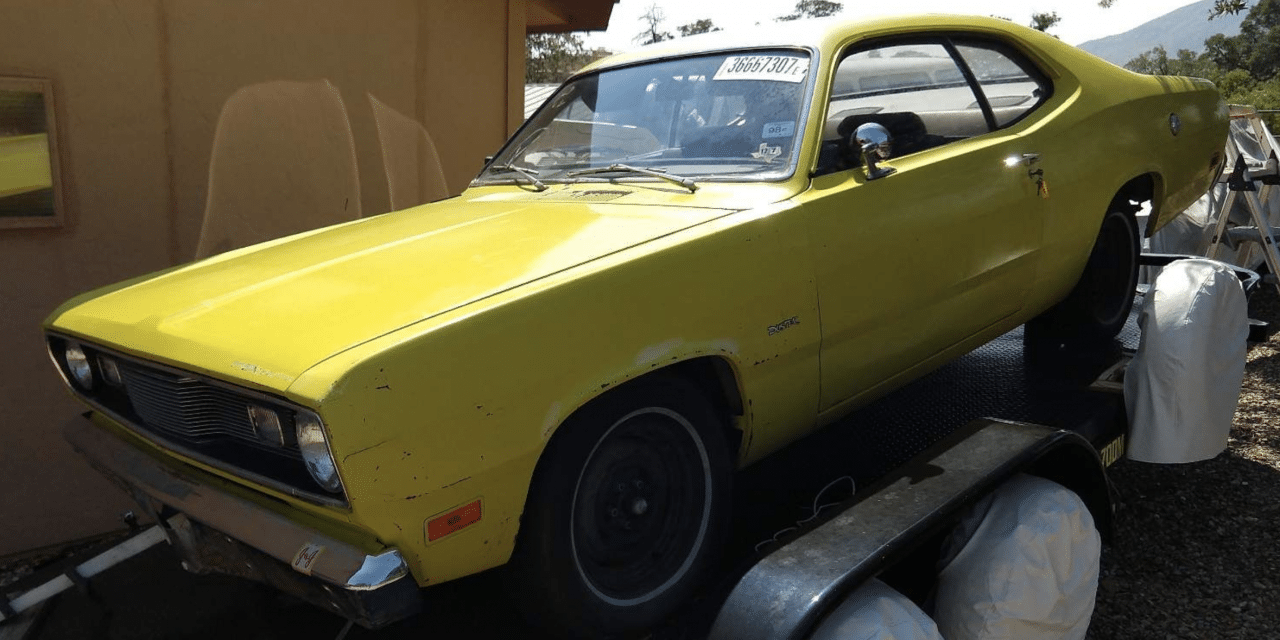 Winter Project: 1971 Plymouth Duster Survivor