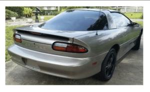 Reasonable Ride: 2002 Camaro V6/5-Speed T-Tops