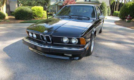 Pristine E24: 1986 BMW 635CSI – SOLD!