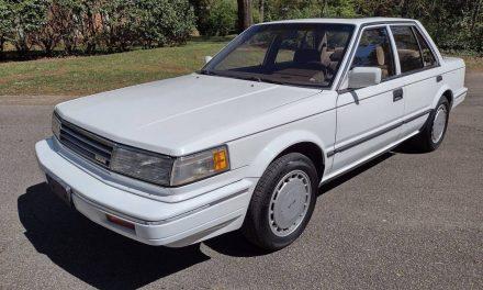 Time Capsule Sedan: 1988 Nissan Maxima – SOLD!
