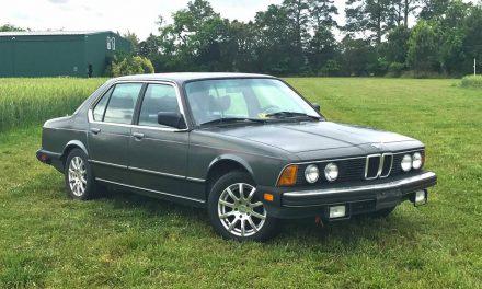 Affordable Flagship: 1985 BMW 735i – Sold?