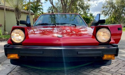 Never This Nice: 1986 Bertone X1/9 – NOW $11,000