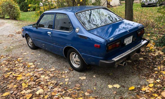 Malaise Miser: 1978 Toyota Corolla – NOW $7,000