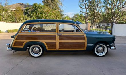 Woody or Woodie: 1950 Ford Custom Deluxe Country Squire Wagon – SOLD!