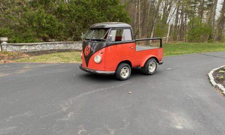 Hauls Laughs: 1957 Volkswagen Transporter Shortened Pickup – $39,500