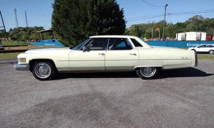 Big Boy: 1976 Cadillac Sedan DeVille d'Elegance – SOLD!