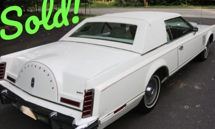 1978 Lincoln Continental Mark V – SOLD FOR $15,000