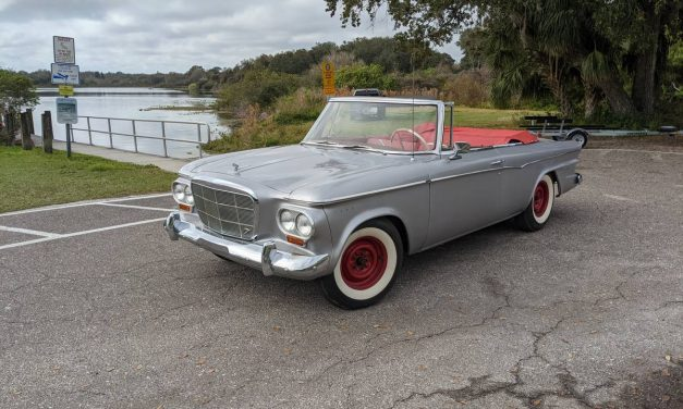 1962 Studebaker Lark V8 Convertible – $8,900