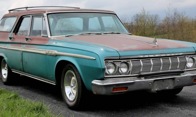 Sad Flip: 1964 Plymouth Fury Station Wagon – NOW $15,800