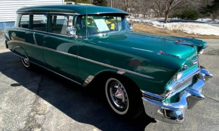 Restored: 1956 Chevrolet 210 Townsman Wagon – Sold?