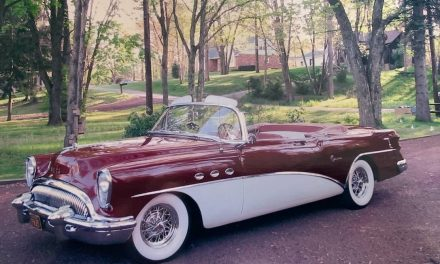 Sweepspear Standout: 1954 Buick Super Convertible – Sold?