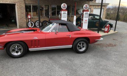 Driver Quality: 1966 Chevrolet Corvette Convertible – $49,500