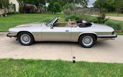 5-Speed: 1993 Jaguar Series III XJS 4.0 Convertible