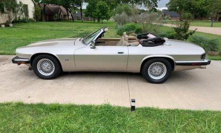 5-Speed: 1993 Jaguar Series III XJS 4.0 Convertible – Buy Now For $18,500