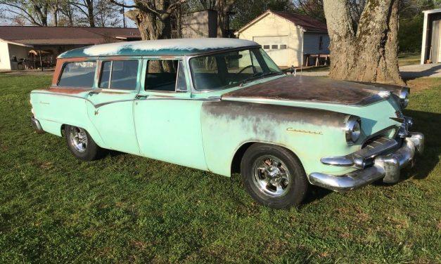 Which Wheels: 1955 Dodge Coronet Sierra Wagon – $13,000