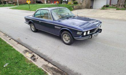 Weber Wellness: 1971 BMW E9 2800CS – SOLD!