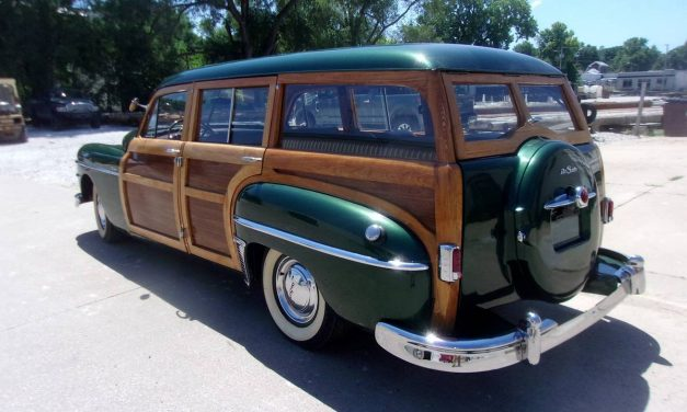 NEW! Award 66: 1949 DeSoto Deluxe Woody Station Wagon – $85,000