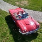 Square Bird: 1959 Ford Thunderbird Convertible – $39,500
