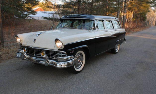 Preserved: 1956 Ford Customline Country Sedan – $28,800