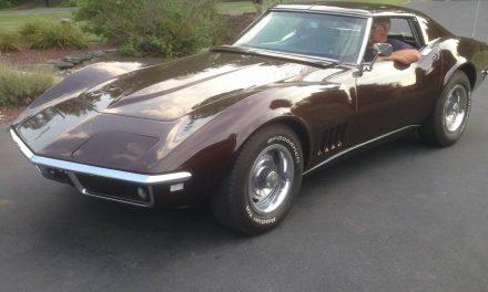 Cordovan Cruiser: 1968 Chevrolet Corvette Coupe – SOLD!