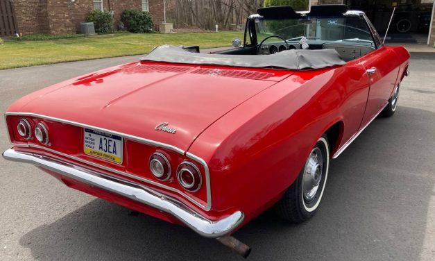 Sad Story: 1965 Chevrolet Corvair Convertible – $9,200