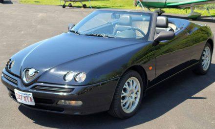 Pininfarina Spider: 2000 Alfa Romeo Twin Spark – Sold?
