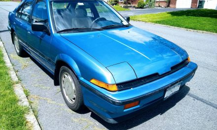One Owner Example: 1987 Acura Integra LS – Sold?