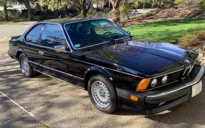 One Owner E24: 1986 BMW 635CSI -$15,000